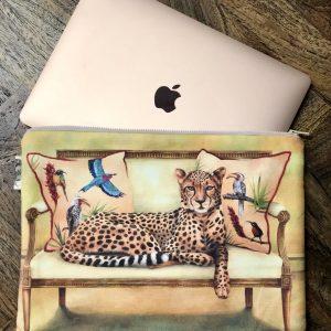 cheetah laptop bag