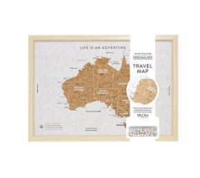 australia map travel board
