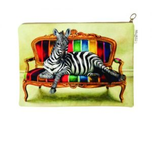 zebra laptop bag