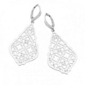 Catalina Silver Drop Earrings