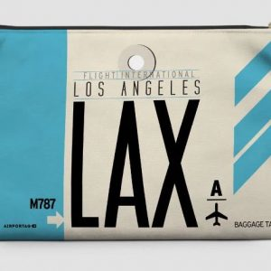 LAX travel pouch